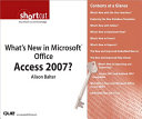 What s New in Microsoft Office Access 2007   Digital Short Cut