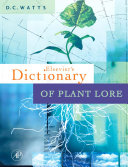 Dictionary of Plant Lore