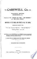 A Catalogue of Modern Law Books  British and Colonial
