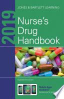 """""""2019 Nurse's Drug Handbook"""" by Jones & Bartlett Learning"""