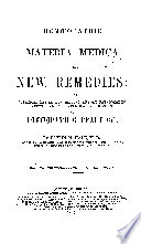 Homoeopathic Materia Medica of the New Remedies