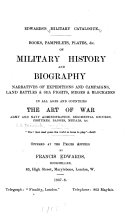Edwards s Military Catalogue