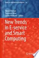 New Trends in E-service and Smart Computing