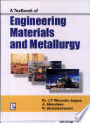 A Textbook of Engineering Materials and Metallurgy Book