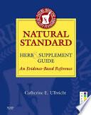 Natural Standard Herb   Supplement Guide   E Book