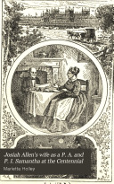 Josiah Allen's Wife as a P.A. and P.I.