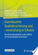 Datenbasierte Qualitätssicherung und -entwicklung in Schulen