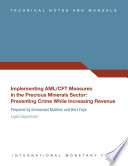 Implementing Aml Cft Measures In The Precious Minerals Sector