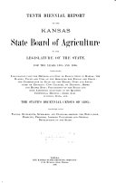 Biennial Report   Kansas State Board of Agriculture