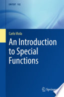 An Introduction to Special Functions