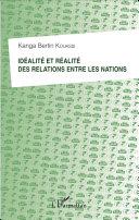 Pdf Idéalité et réalité des relations entre les nations Telecharger