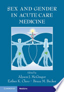 Sex and Gender in Acute Care Medicine Book