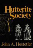 Hutterite Society