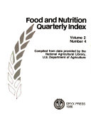 Food and Nutrition Quarterly Index Book