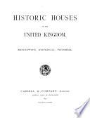 Historic Houses of the United Kingdom Pdf/ePub eBook