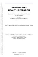 Women and Health Research