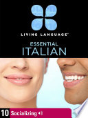 Essential Italian  Lesson 10  Socializing Book