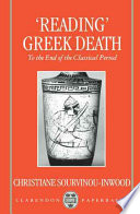 'Reading' Greek Death