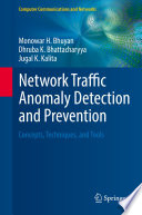 Network Traffic Anomaly Detection and Prevention Book