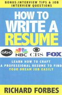 How to Write a Resume  Interview Tips and Job Interview Questions