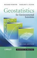 Geostatistics for Environmental Scientists