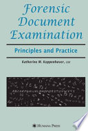 Forensic Document Examination Book