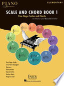 Piano Adventures Scale And Chord Book 1
