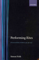 Performing Rites: Evaluating Popular Music