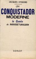 Un Conquistador Moderne Pdf/ePub eBook