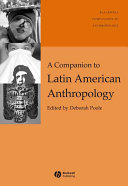 A Companion to Latin American Anthropology