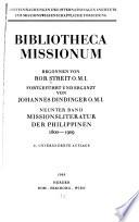 Bibliotheca missionum