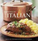 Williams Sonoma Essentials of Italian