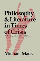 Philosophy and Literature in Times of Crisis