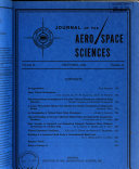 Journal of the Aero space Sciences Book