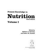 Present Knowledge In Nutrition Book PDF