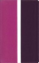Amplified, Holy Bible, Imitation Leather, Pink/Purple, Indexed