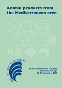 Animal products from the Mediterranean area