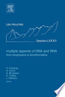 Multiple Aspects of DNA and RNA  from Biophysics to Bioinformatics Book