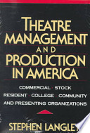 Theatre Management and Production in America
