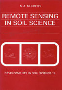 Remote Sensing in Soil Science