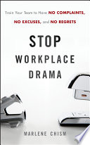 Stop Workplace Drama Book
