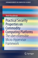 Practical Security Properties On Commodity Computing Platforms Book PDF