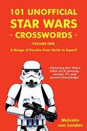 101 Unofficial Star Wars Crosswords   Volume 1