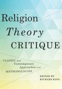Religion, Theory, Critique