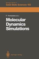 Molecular Dynamics Simulations Book