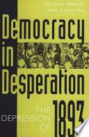 Democracy in Desperation Book