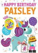 Pdf Happy Birthday Paisley
