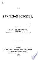 The Sensation Songster Edited By J E Carpenter