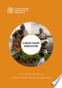 Climate smart agriculture training manual Book