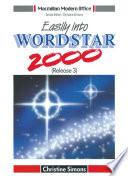 Easily Into Wordstar 2000 Release 3